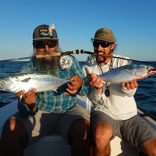 Fly fishing for trout in Corpus Christi