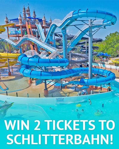 Win 2 tickets to Schlitterbahn with our email giveaway!