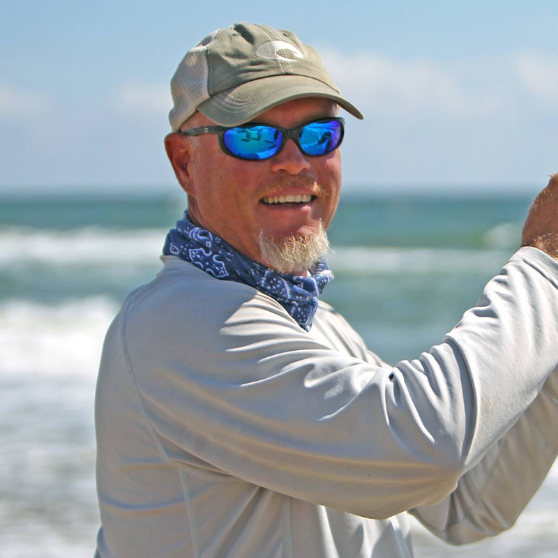 Capt. Jeff Wolda - PINS Surf Fishing Guide