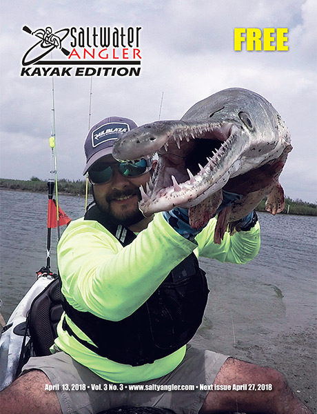 Saltwater Angler Kayak fishing magazine