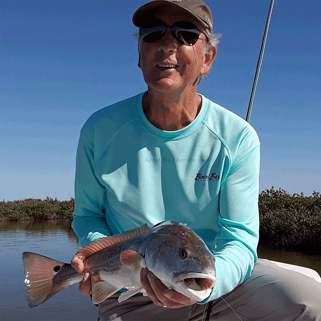 Fly fishing guide in Corpus Christi