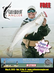 Saltwater Angler texas fishing magazines