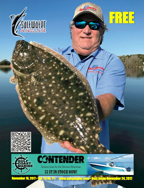 Flounder fishing in Corpus Christi, Texas