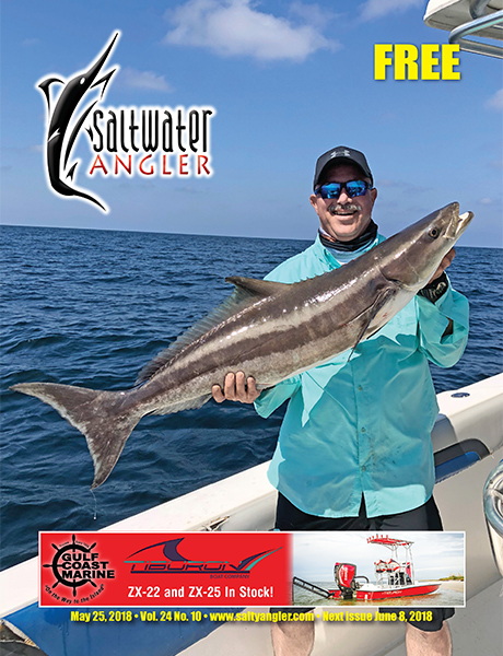 Saltwater Angler Magazine - Free fishing magazine for Texas fishermen