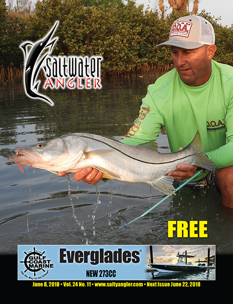 Giant Texas Snook in our Texas saltwater fishing magazine