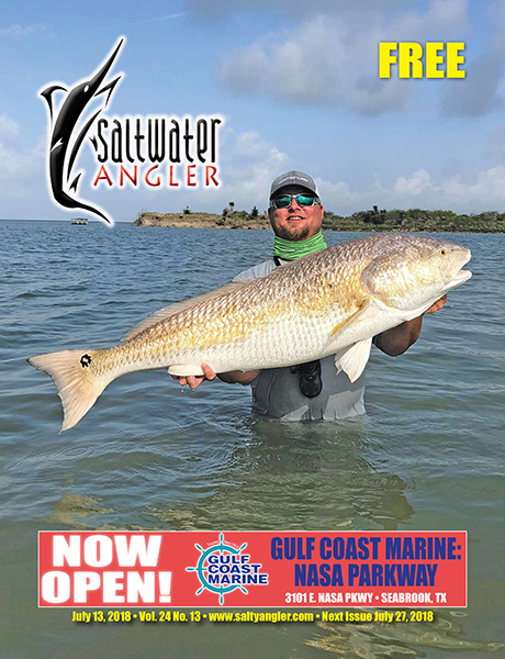 Saltwater fishing magazine Texas and Louisiana