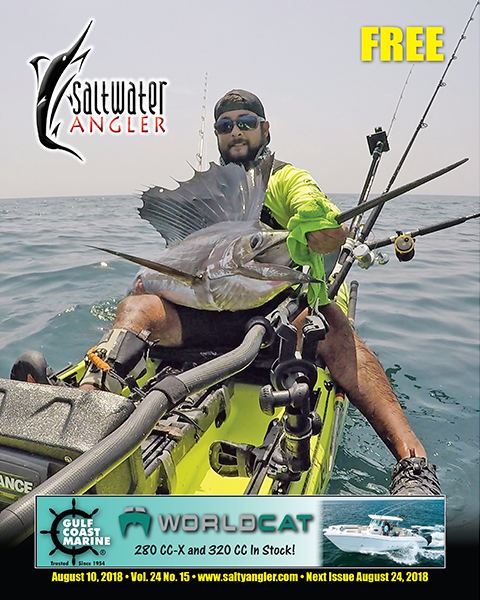 Texas saltwater kayak fishing magazine