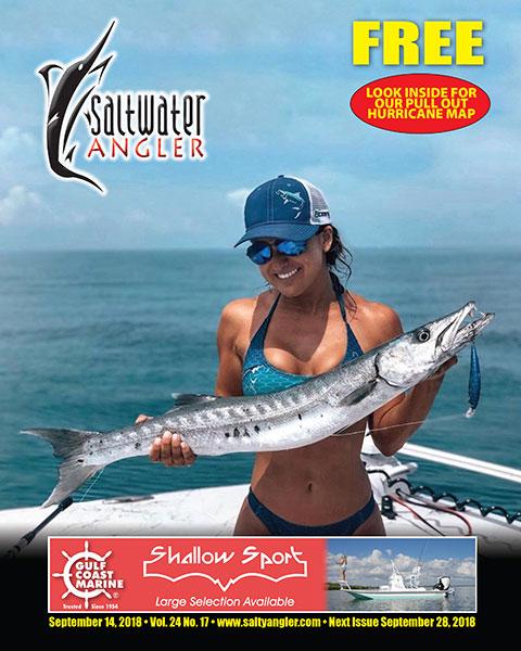 Saltwater Angler fishing magazine for Texas