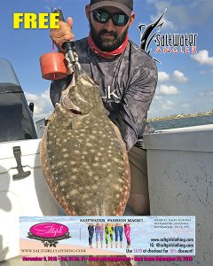 Jesse Torres New Water Body Record 7lb. 13oz. Flounder,