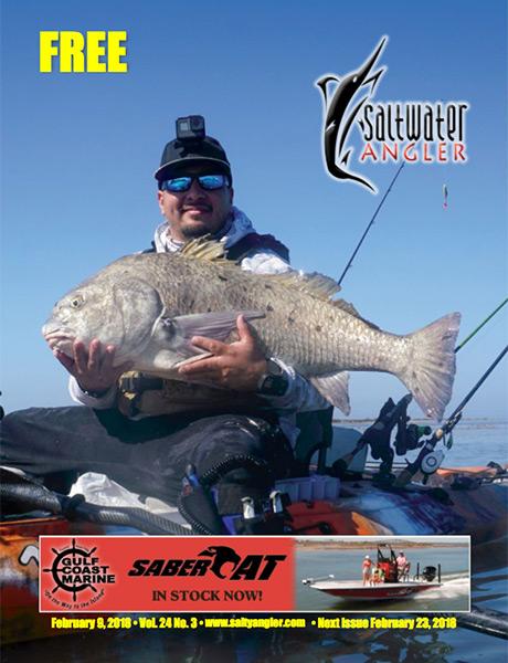 Saltwater Angler Texas fishing magazines