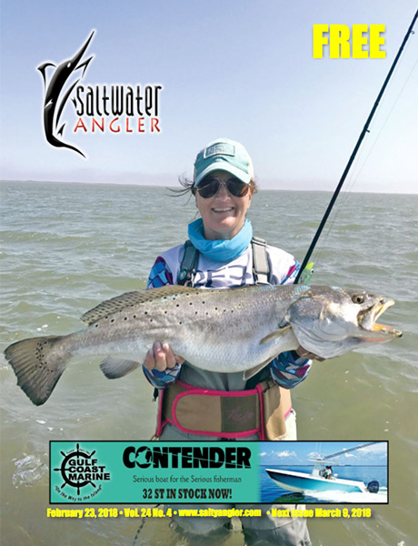 Saltwater Angler free fishing magazine