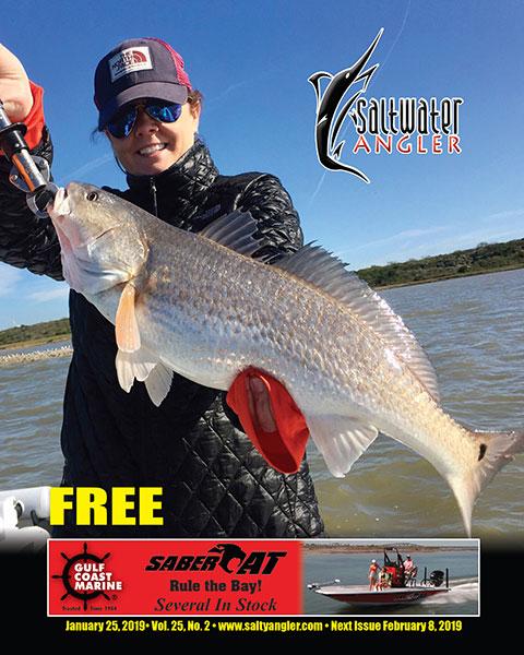 Redfish in Nueces Bay - Corpus Christi, Texas