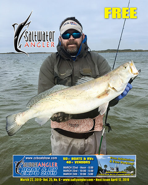 """Captain John Little with a """"once in a lifetime"""" trout"""