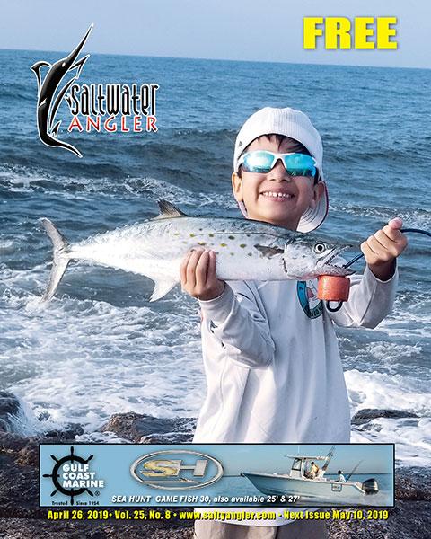 Spanish mackerel caught at the Port A Jetties