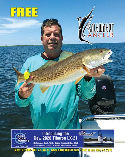 Redfish caught at King Ranch Shoreline in Texas