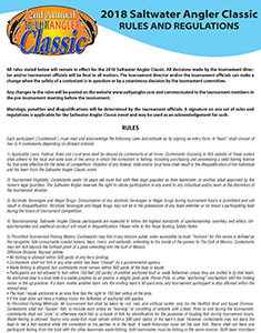 Saltwater Angler Classic Official Rules