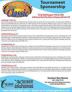 Saltwater Angler Classic Sponsorship