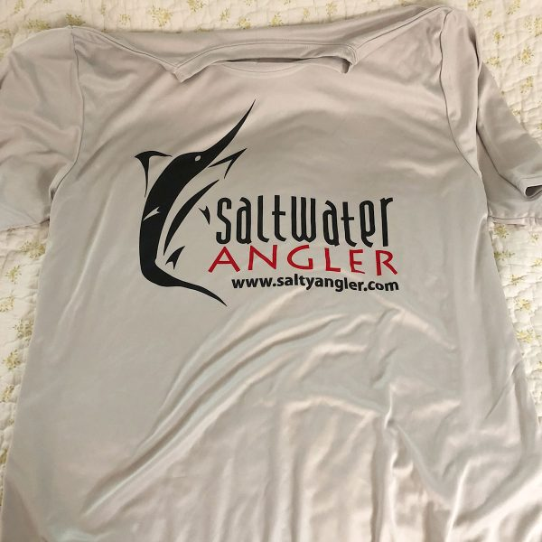 Saltwater Angler DRI-Fit Redfish & Trout Shirt - Front