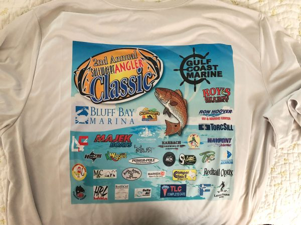 Saltwater Angler Classic DRI-Fit Tournament Shirt - Back