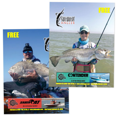 Saltwater Angler Fishing Magazine Subscription