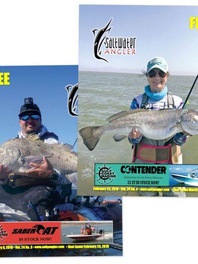 Saltwater Angler Fishing Magazine Subscription