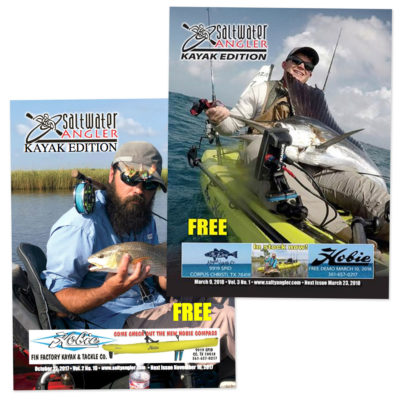 Saltwater Angler Kayak Fishing Magazine Subscription