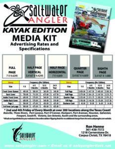 Saltwater Angler Kayak Edition Media Kit