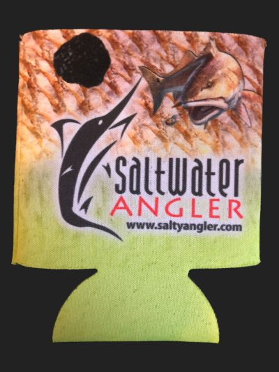 Saltwater Angler Yellow Redfish Koozie