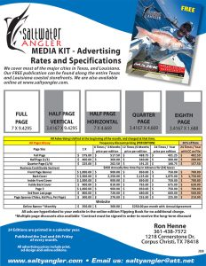 Saltwater Angler Media Kit 2020