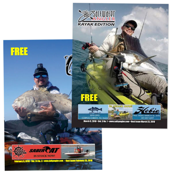 Saltwater Angler Regular and Kayak Fishing Magazine Subscription