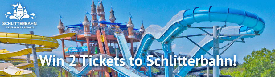 Win 2 tickets to Schlitterbahn courtesy of Saltwater Angler fishing magazine!