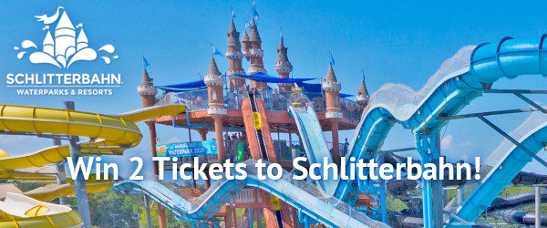 Win 2 tickets to Schlitterbahn!