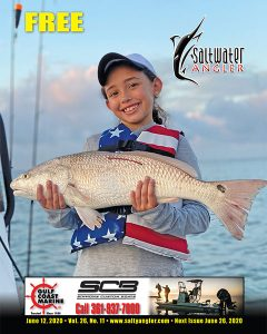 8 year old Marilyn Monroe with a 2020 STAR Redfish