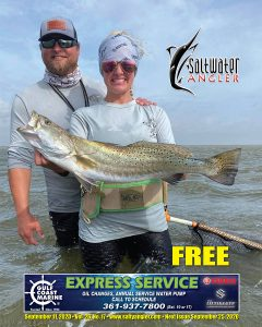 Trout in Lower Laguna Madre