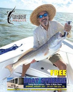 Jorge Torres Sr. with 41 inch bull redfish