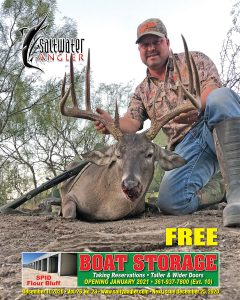 """We live hunting and fishing"" is not just a slogan for Billy Gerke, president/founder of ForEverlast, with his low fence Maverick county booner scoring in at 176 5/8"""