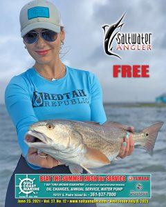 Joslyn Doiron with a redfish