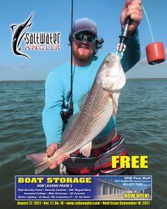 Kyle Ellis with a redfish